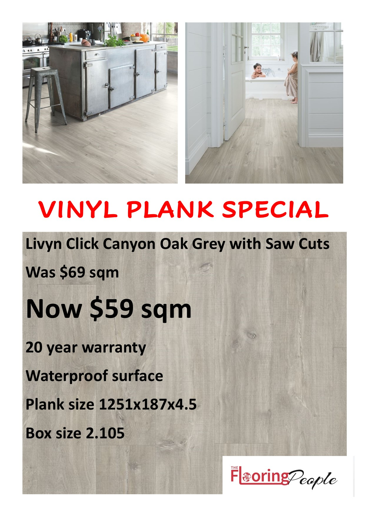 Livyn Click Canyon Oak Grey