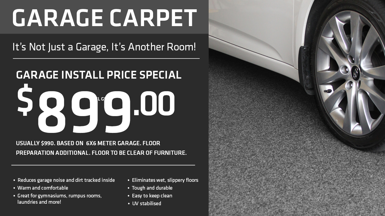 Garage Carpet Special